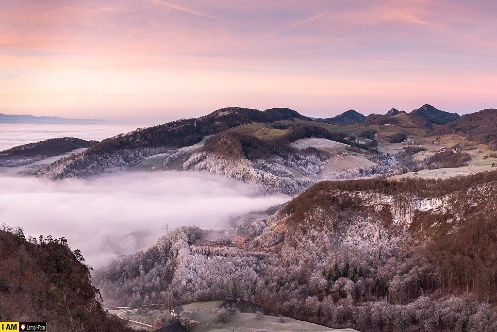 Nebelmeer am Hauenstein