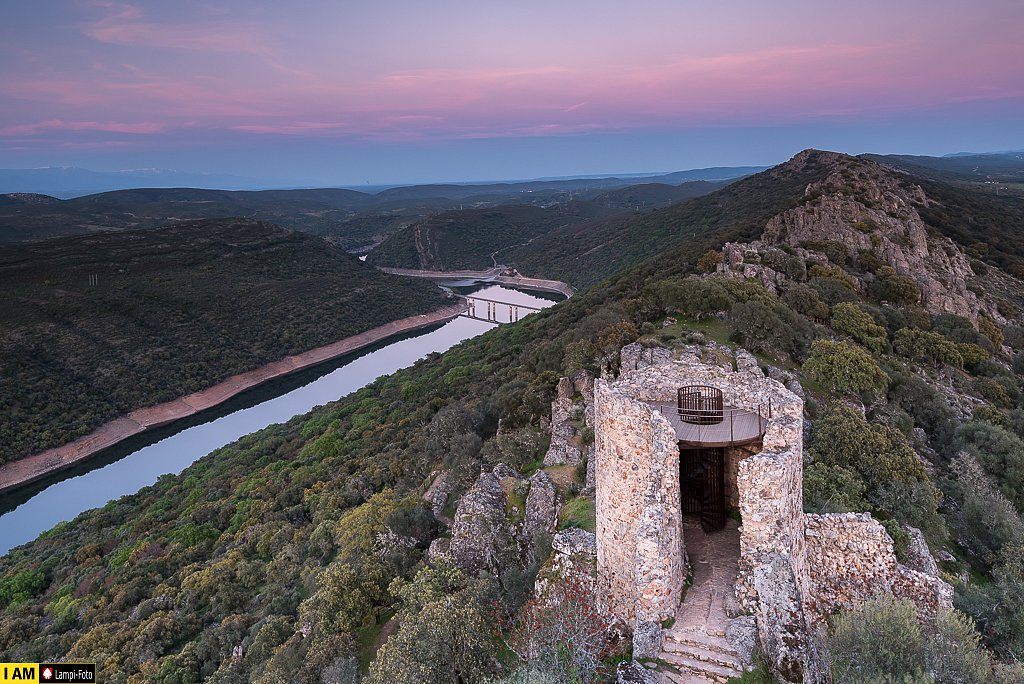 Castillo de Monfragüe, Extremadura