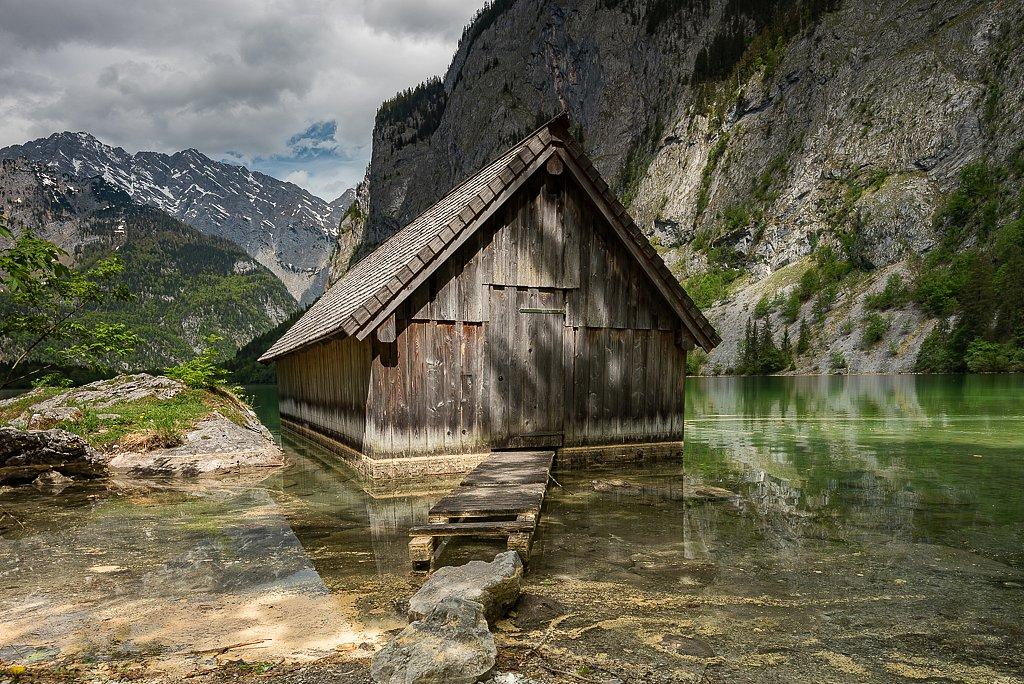 Obersee, Bootshaus (Fischunkelalm)