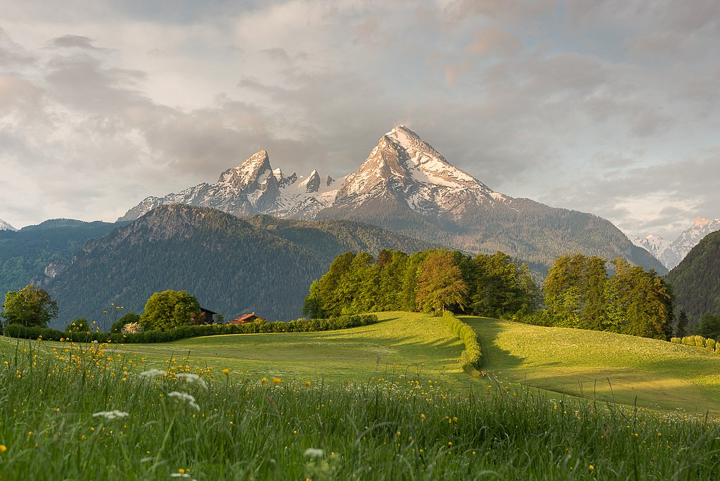 Aschau, Watzmann 2713 m