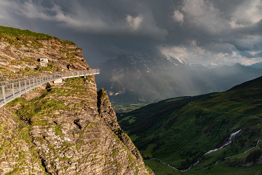 Grindelwald, First Cliff Walk
