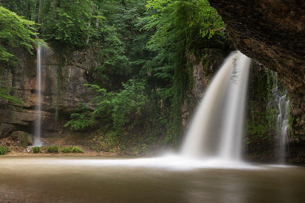 Kilchberg, Giessen Wasserfall